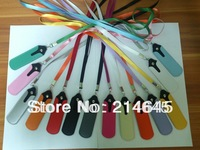 eGo colors Lanyard Neck Sling Rope with Soft PU Leather Pocket Neck Sling Pocket for e-cigarette series/100pcs/lot  CE3