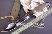 New 2013 AITOR Jungle King Timber Wolf Fixed Blade Hunting Knife Outdoor Camping Survival Knife Knives Free Shipping