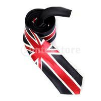 Free Shipping Unisex Casual Necktie Skinny Slim Narrow Neck Tie - Union Jack
