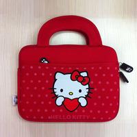 "Cute Hello Kitty Carrying Soft Case Bag Handbag Pouch Skin Sleeve for iPad Mini Samsung Tab 3 T210 P3200 T311 All 7"" 8"" Tablet"