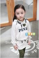 2013 Hot Sale Autumn Clothing Set Hoodies+Skirt 2 pcs Set 2 COLORS Korean Style Free Shipping