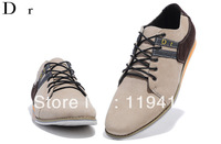 2013 Free shipping khaki lace up casual men shoes fashion design men shoes new style new arrival fashion classic 41-46#