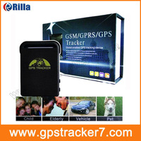 2013 GPS tracker Car 102B three bands GPS tracking system Mini Vehicle Realtime GSM GPRS GPS System1PC free shipping