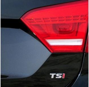 Free shipping (small font)Auto supplies/public TSI/metal badge golf 6 new soar team polo lavida magotan sticker/decoration