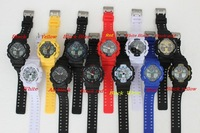 2014  nice  Free shipping new arrivel best quality fashion silicone  g ga100 watch 10pcs/lot