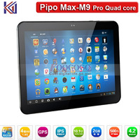 "New Arrival Pipo M9 Pro 10.1"" IPS 1920*1200 Tablet PC RK3188 Quad Core Dual Cameras 2.0MP/5.0MP Bluetooth GPS 2GB RAM 32GB ROM"