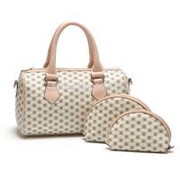 new 2013 fashion handbags women bags designers brand  leather handbags mother bag 4pcs set high quality wallet Clutches makeup