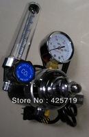 free shipping 36V CO2 gas regulator gas flow meter  CO2 heater for MIG welding machines