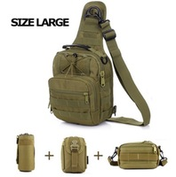 D5 Column MOLLE Gear Chest Bag Multi Purpose Messenger Bag Sport Combo, 7 Colors+Free shipping(SKU12050139)