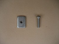 Long board fin plate fin Screw and Plate Smart Screw Longboard box screw centre fin plate screw