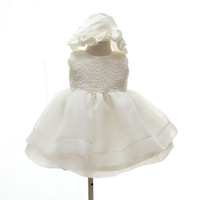 Retail 2014 New Sleeveless Baby Girls Fashion Dresses Girls Toddler Flower Tutu Layered Princess Party Bow Kids Formal Dress1PCS