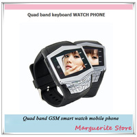 2013 New Arrival Smart Watch Mobile Phone Waterproof Wrist watches phone Camera Bluetooth watch phone Java GPRS cell phone watch