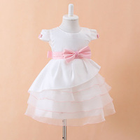 NEW Arrival High Quality Baby Girl Christening Gowns tutu Dress Baby Christmas Dresses Girls' Party Dress Princess Lace dresses