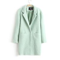 Retail CPAM Free Shipping 2013 Fashion Women Wool Coat / Winter Trench Coat 0274