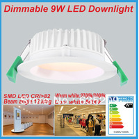 Free Shipping 2013 New Design AC 220 - 240V 9W LED Downlight Dimmable Surface Mounted LED Down Light Replace 50W Halogen Lamp