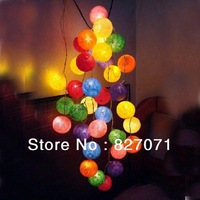 Novelty Items!3.9 Meters Colorful Thread Ball Lantern String Light Christmas/ Halloween/ Wedding Decorations