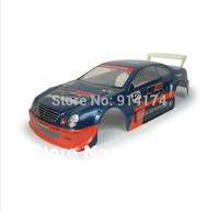 1/10 RC car parts 1:10 R/C car PVC  body shell 200mm  NO053 blue free shipping