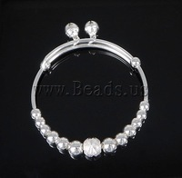 Free shipping!!!Brass Bracelet,2013 new fashion, silver color plated, nickel, lead & cadmium free, 5-8mm, 7.5mm
