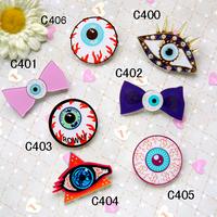 Custom Make All Kinds Of Harajuku Badges And Brooches,Acrylic Bowknot Eye Badges And Brooches(Min order is $10 Mixed order)