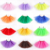 Girls Tutu Ballet Princess Tutus Dance Costume Party Toddler Kids Mini Skirts