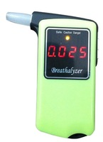Free shipping 10 pcs/lot  high accuracy Professional Police Digital Breath Alcohol Tester Breathalyzer AT858 wholesale