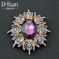 New color exaggeration ace rhinestone brooch High quality badge pin exclusive sales