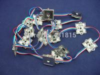 25cm long wire cable  Square Shape Waterproof IP68 LPD6803 pixel module of Invoice to EDUARDO TE SANCHEZ 2014-9-10