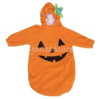 Free Shipping Cute Pumpkin Shape Baby Sleeping Bag - 95cm