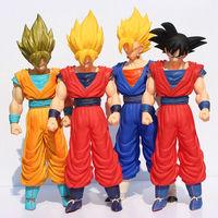 Dragon Ball Z 1pcs 45cm 4 Styles Janpan Anime Action Figure Dragon Ball Z SON GOKU Great Saiyaman Action Figure retail