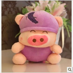 Grátis frete clássico gravações frutas McDull porco frutas porco brinquedo de pelúcia boneca bichos de pelúcia presente de aniversário WHT025(China (Mainland))