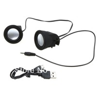 Mini 3.5mm Silicone Portable Mobile Clip Speaker For iPad Tablet PC Five colors
