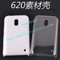 50% OFF Mobile Phone Transparent Case for Nokia N620 with Black/White/Crystal color for DIY