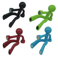 Free shipping Creative Wall Climbing Strong Magnetic Man Style Key Holder,Mini Magnet Man