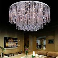 100%  Guanrantee 2013 New Modern Crystal Ceiling Light  indoor lighting Home improvement 9069
