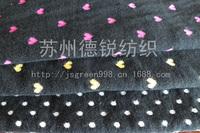 Custom 100% Cotton Knitting Fabric/High Quality Double Knit Jacquard L100CM*W175CM For Textile,Garment