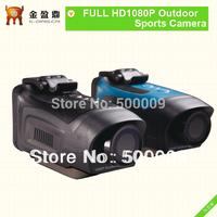 NEW! Portable Waterproof disign HD1080P 4x digital Zoom Sports action Camera KD-AT180
