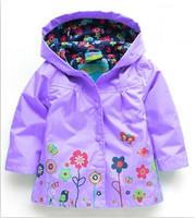 Girl's Fashion jackets Girls Outerwear & Coats blazer Trench Spring Autumn Girls Hoodies Jackets, Baby raincoatChildren's Coat