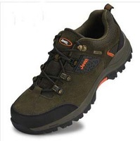 Genuine leather shoes hiking shoe women and man.waterproof shoes women