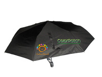 6393,Hot&Classical Mens Umbrella,Royal Black,Italy Design;Automatical,8K,3-fold,190T Pongee with Carrying bag,Italy Order Stock,