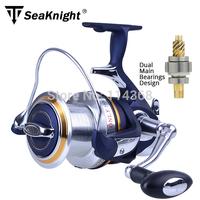 Free Shipping super quality big fishing reel metal  LJ 8000 12+1BB 4.1:1