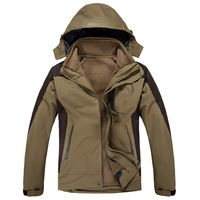 2013 Germany Brand Winter Men's Cozy Outdoor Jackets Waterproof Windproof Breathable Windbreaker High Quality Coats