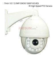HD Dome 2.0MP 1080P FULL HD-SDI 18x Optical Zoom 4.7-84.6mm Lens IR High speed Dome Camera