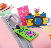 SMILE MARKET  7pcs/lot  Cartoon Security Suitcase Bags Tag
