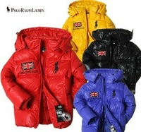 NEW 2013 brand high quality children down jacket Thick Warm clothing  kids winter outerwear overcoat Free shipping