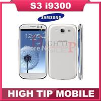 Free gift Free Singapore Post Ship Original Samsung i9300 Galaxy S3 SIII Quad Core 3G GPS WIFI 8MP 16GB Storage 4.8'  Android