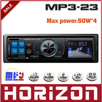 Car Audio MP3-23 Car Audio Player, Electronic Audio Control (VOL/BASS/TREBLE/FADER) , Car MP3 Player