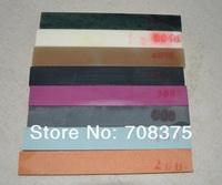 8pcs/set Super fine Sharpener stone Grinding Oilstone Universal Millstone gift plastic base Fast shipping 240# -10000#