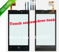 Free shipping Original Touch Screen Glass Digitizer Lens Replacement Parts For Nokia Lumia 520+free tools
