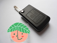 Free Shipping 3 Buttons Remote Case Fob Cover Modified Uncut Flip Folding Car Blank Key Shell For Lada