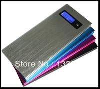Free shipping real capacity 8000mAh Power Bank portable charger External Battery for iphone 4 5 ipad, samsung galaxy S3